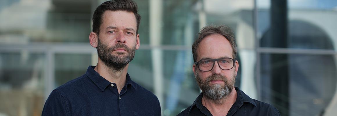 Sebastian Dramburg und Matthias Sziedat